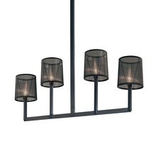 Sonneman 4484.25 - Four Light Black Island Light