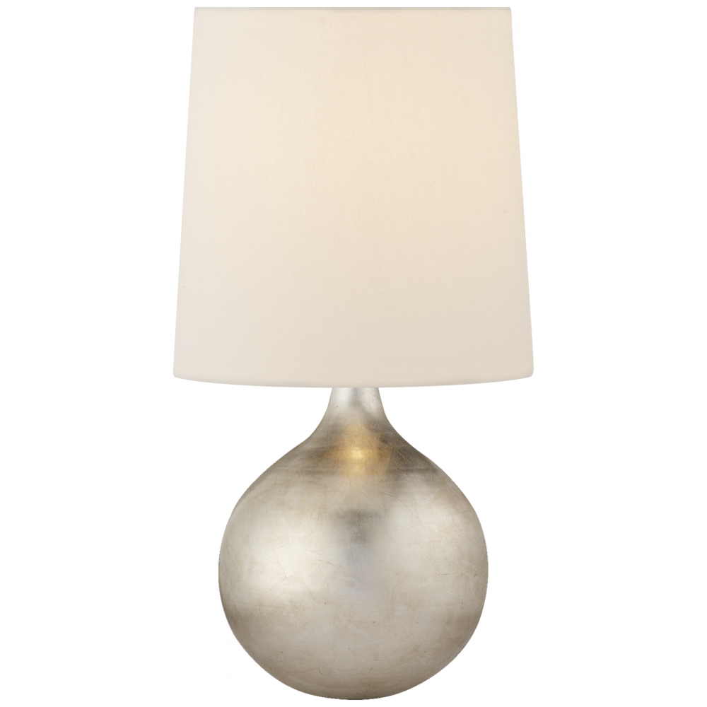 Warren mini table lamp in burnished silver leaf 2k0d0 robinson warren mini table lamp in burnished silver leaf aloadofball Image collections