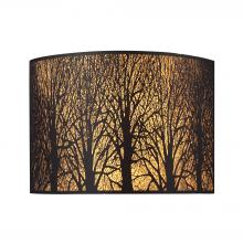 ELK Lighting 31070/2 - Woodland Sunrise 2 Light Wall Sconce In Aged Bro