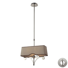 ELK Lighting 31254/2-LA - Two Light Polished Nickel Island Light