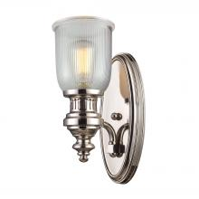 ELK Lighting 66780-1 - Chadwick 1 Light Wall Sconce In Polished Nickel