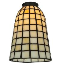 "Meyda Tiffany 67039 - 5""W Geometric Beige Shade"